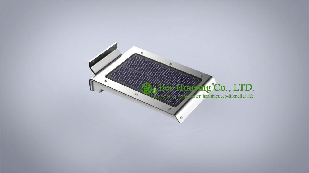 Outdoor LED Solar Led Wall Light With PIR Sensor, LED Solar Wall Lamp