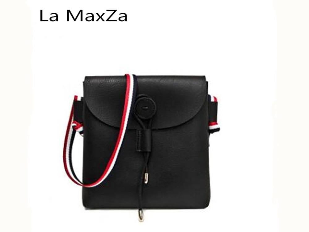 La MaxZa 2018 summer new wave diagonal shoulder small bag Korean fashion handbags Messenger small square bag 2018 new female bag korean version of the striped shoulder messenger bag small fashion handbags ladies wrist bag