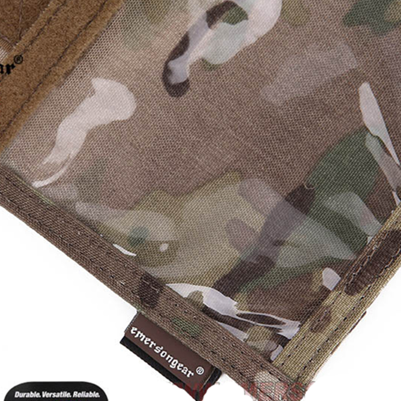 Image 5 - Emersongear Army Fan Tactical ID Card Case Patch Neck Lanyard and Credit Card Organizer ID Card Holder  by Genuine US multicam-in Pouches from Sports & Entertainment