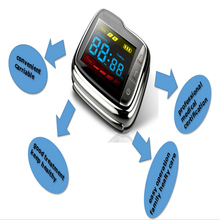 New 22 Beams Cold Laser Therapy Hypertension Blood Irradiation Wrist Watch