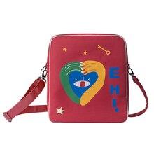YIZI STORE original waterproof dual-use traveling bags in GRAFFITI series For Teenagers (FUN KIK) yizi canvas printed backpacks in parent child style for adults hot sale fun kik