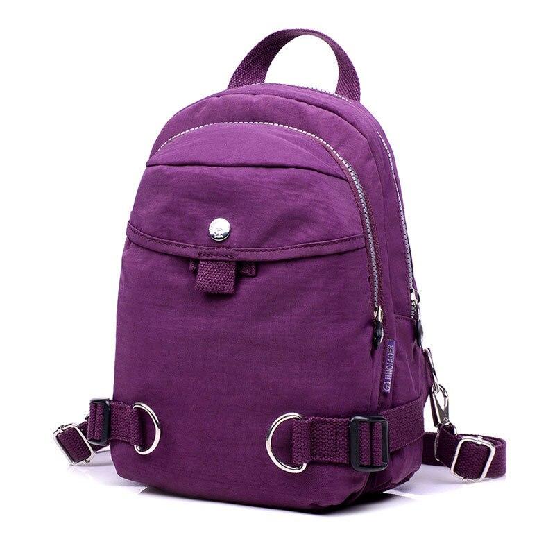 16f9a10cd109 Для женщин рюкзак женский Рюкзаки высокое качество Водонепроницаемый нейлон  Для женщин сумка Для женщин Путешествия Рюкзак Back Pack Mochila