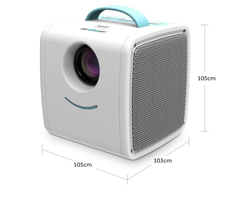 700 Lumen Portable Mini Home Theater Projector for Children Education with Mini LED TV Home Beamer Support 1080P & 60inch Screen_11