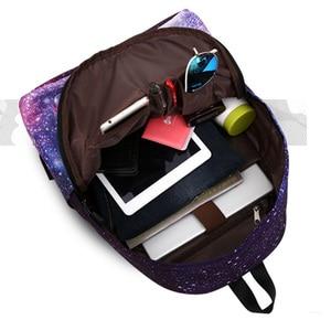 Image 3 - Schoolbag Bagpack Back Pack Portfolio School Bag Feminine Backpack Space Female Women Feminina For Boys Girls Teenager Sac a dos