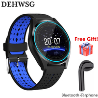 DEHWSG Y1 PRO Smart Watch with Max 32GB TF Micro SIM Card Slot Camera Silicone Band Bluetooth 4.0 Sports watch for IOS Android