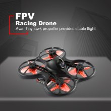 купить Tinyhawk S Mini Indoor FPV Racing Drone Brushless DIY RC Drone 37CH 20mW 4 in 1 5A F4 Flight Controller 600TVL With 2 Battery по цене 6345.73 рублей