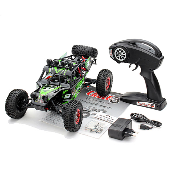 Feiyue FY03 Орел-3 1/12 2,4 г 4WD Desert внедорожных RC удаленного Управление автомобилей лучший подарок для детей игрушки мальчика с Оригинальная коробка