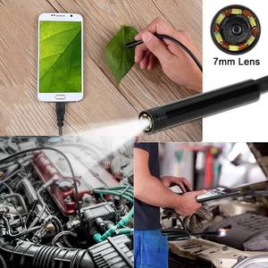 Image 2 - VicTsing 10m 7mm Endoscope Camera Wifi Android Type C USB Borescope HD 6 LED Snake Camera For Mac OS Windows Car Repair Tools