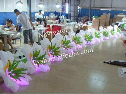 inflatable wedding decoration flowers with LED Light цена