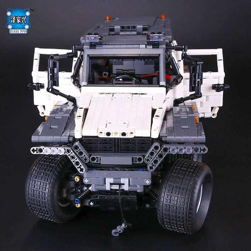 New LEPINE 2816Pcs Technic Series Off-road vehicle Model Educational Building Kits Block Bricks Compatible Toys Christmas Gifts