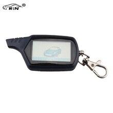 RIN Starlione Starline B9 Versión Rusa LCD Llavero Mando a distancia Para Alarma de Coche de Dos Vías Starline B9 Versión Rusa y Logo