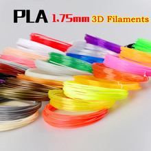 10/20 Colors 1.75 mm PLA Material 3D PLA Filament For 3D Pen 3d Printing Materials Random Color for 10m/pcs Free Shipping