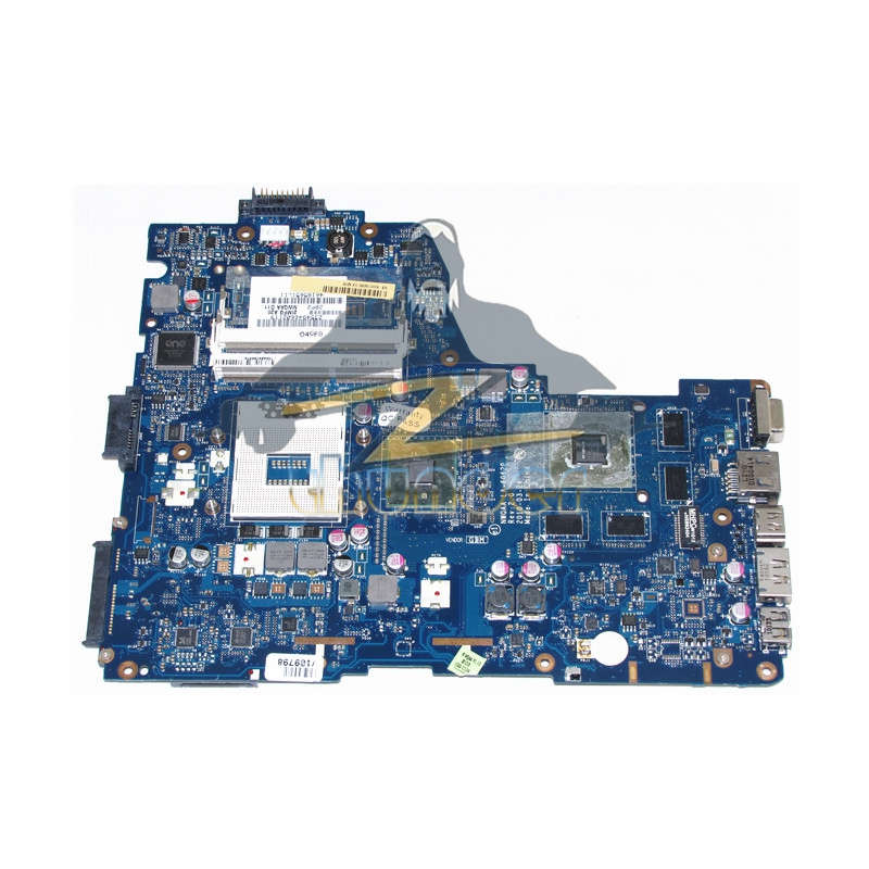 LA-6062P K000104390 Main Board For Toshiba Satellite A660 A665 Laptop motherboard HM55 DDR3 GT330M Video Card