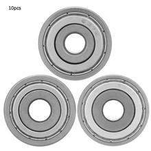 цена на 10Pcs/set 637ZZ/638ZZ/639ZZ  Ball Bearing Sealing Deep Groove Ball Bearings Double-Sided Deep ball bearing