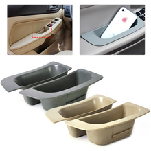 2pcs/lot New Car Interior Left + Right Door Glove Slot Storage Box Container Holder Organizer Fit for Ford Focus 2009 2010 2011