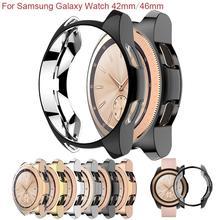 HOT Anti-scratch TPU Bumper Protector Case Cover for Samsung Galaxy Watch 42mm/46mm
