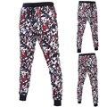 3D Impresso calças dos homens estilo de Rua Do Punk homens Frescos calças Corredores Sweatpants Corredores Soltos MQ375