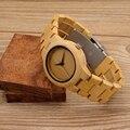 2017 Новый BOBO BIRD Роскошные Женские Часы Подарки Бамбука Группа Японии Move' 2035 Кварц Бамбука Часы для Женщин relógio feminino