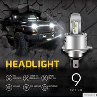 2 X Small Kit Philips ZES Chip H4 Led 80W 8000LM 9S Integrated Headlight Car Hi