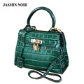 sac de marque mini women's handbag crocodile leather fashion handbags Shoulder Messenger small bag green bag sac a main femme