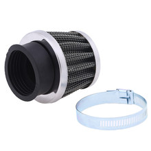 35MM/39MM Universal Motorcycle Air Filter Cleaner Mushroom Head Air Pods for CB 250 CB250N CB250R CB250S CB400 CB400N Cafe Racer(China)