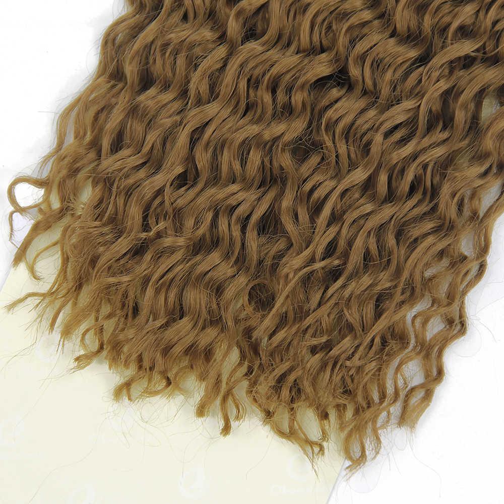 Синтетические плетеные косички для волос, розовый, фиолетовый, зеленый, серый, желтый, золотой цвета, кудрявая завивка, плетение волос