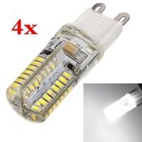 4x g9 3 w 64 3014 smd 220 v lampa żarówka led spotlight żarówki lampy biały nowy 220 v 110 v