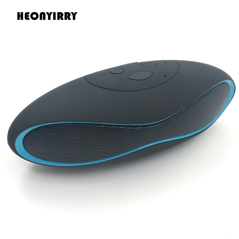 Wireless Bluetooth Speakers Mini Handfree Speaker FM Radio with Strong Heavy Bass Speaker Portable Audio Player Support TF Card