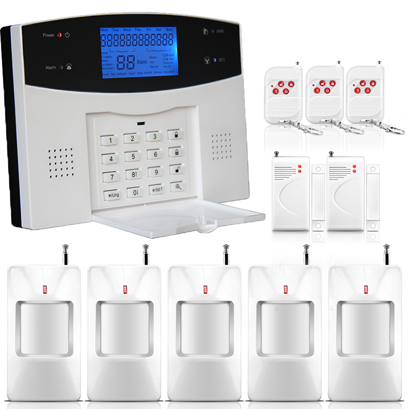 remote home personal security system wireless door window ...