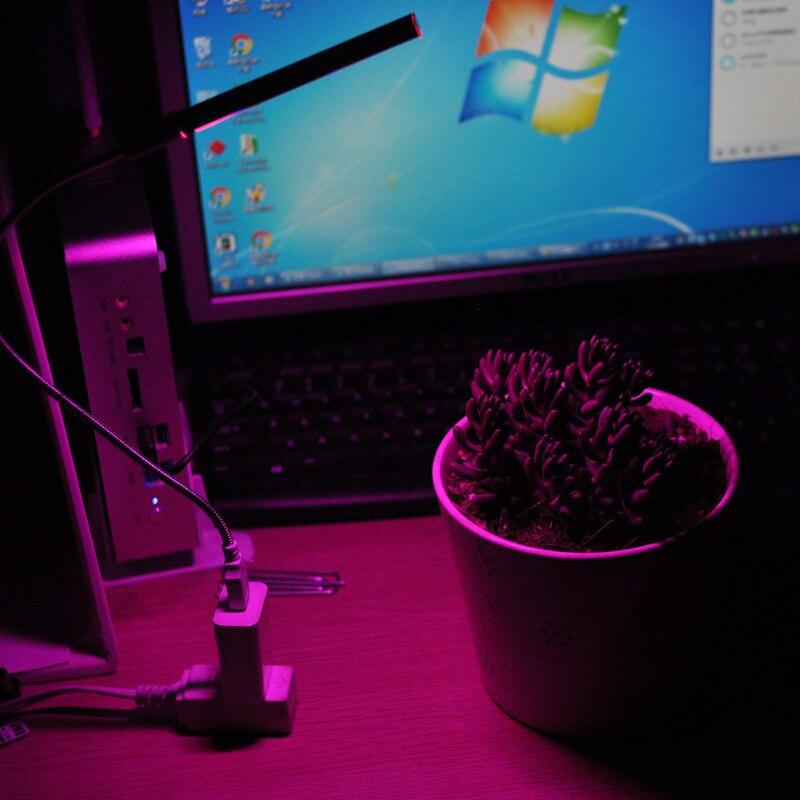 USB led grow light spectrum hydroponics Indoor desk Article bar Growth Lamp TPI