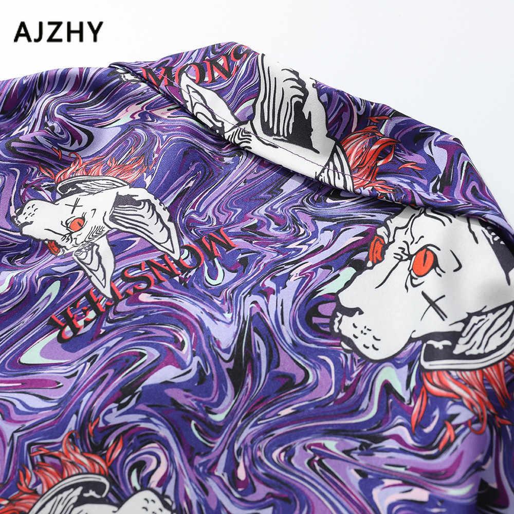 Модные забавные короткие рубашки для мужчин и женщин с 3d принтом Dragon Ball Гавайская винтажная Повседневная Уличная Хип-хоп рубашка Harajuku короткий рукав