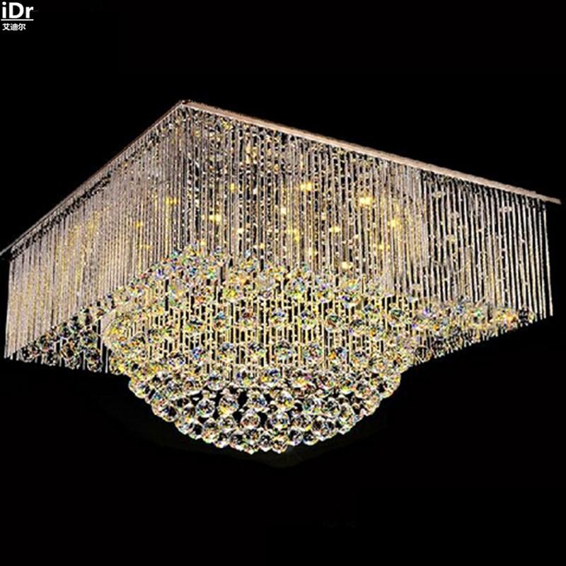 Moderne Minimalistische LED Kristall Licht Mode Kreative Wohnzimmer Lampe Beleuchtung Gemtliches Schlafzimmer Reis Hoher Qualitt Deckenleuchten