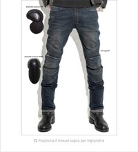 2016 Motorcycle PANTS MAN, uglybros Featherbed jeans pantaloni Goccia cavalcare versione standard car and motorcycle