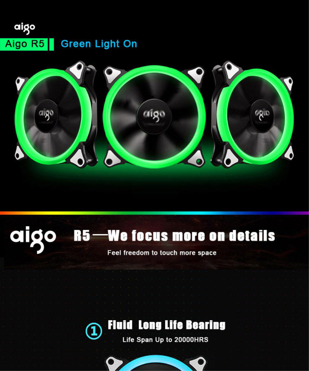 aigo pc case fan-5