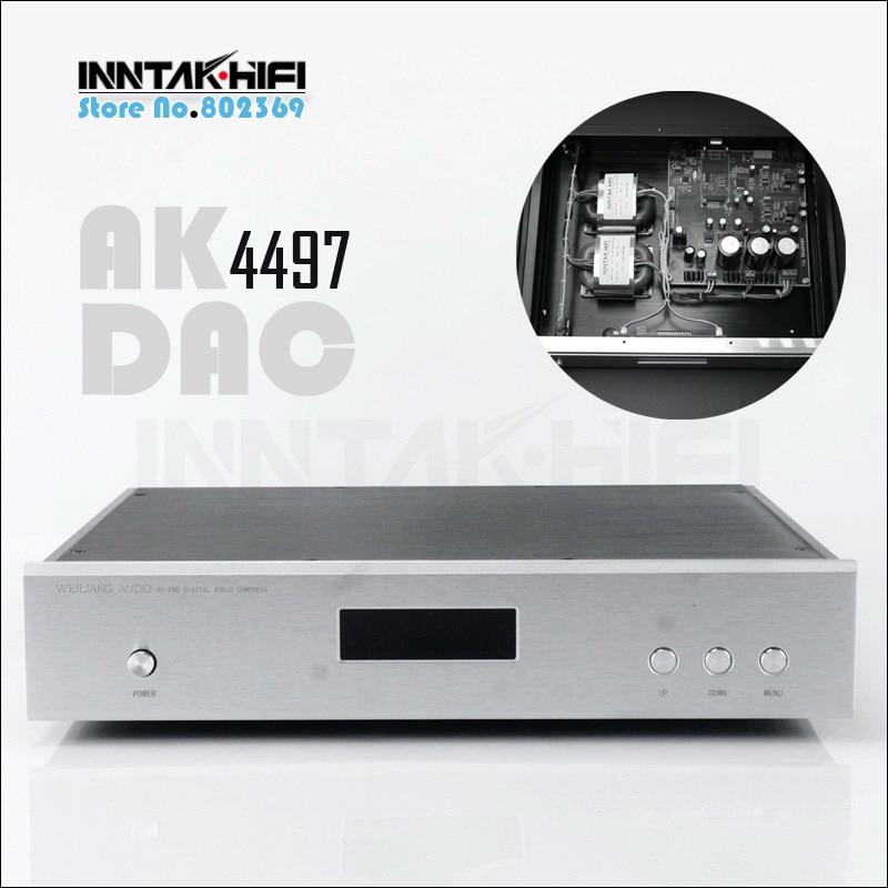 115 V Oder 230 V Top Ak4497 Dac Decoder W/amanero Usb-eingang Unterstützung 32bit/384 Karat Dsd-dop Chinesische Aromen Besitzen