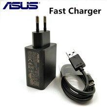 מקורי ASUS מהיר מטען Zenfone 5 4 3 2 מקסימום zc554kl zc520tl טלפון מהיר תשלום 9 V/2A qc 2.0 נסיעות מתאם & usb נתונים כבל