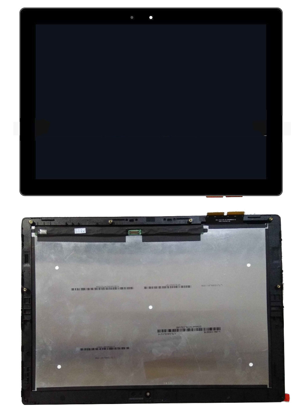 "New for Lenovo Miix 700-12ISK 80QL 12"" 2160x1440 touch Lcd screen digitizer Assembly Fru 5D10K37833 with Bezel Panel Replacement"