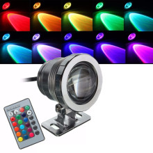 Waterproof IP68 5W RGB LED Light Fountain Pool Pond Spotlight Underwater Lamp With Remote Control AC 85-265V/DC 12V