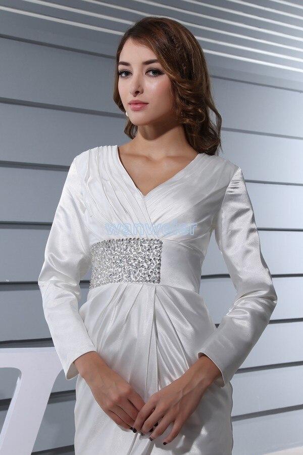 gratis verzending elegante 2013 formele jurken korte jurk met lange - Bruiloft feestjurken