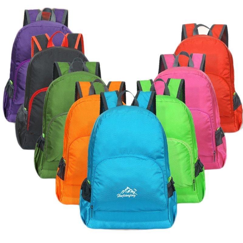 2016 Canvas Backpacks for Teenage Girls Waterproof School Bags Men Women Fashion Travel Small Backpack Mini Folding Bag Mochilas