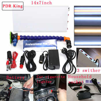 Auto Body Lamp Paintless Dent Repair LED Light PDR KING Tools 3 Strips LED Lights
