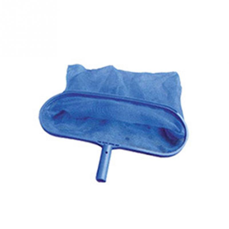 2018 nuevos Arrivials profesional azul PP hoja rastrillo malla Net Skimmer piscina limpia herramienta pez hoja Skimmer