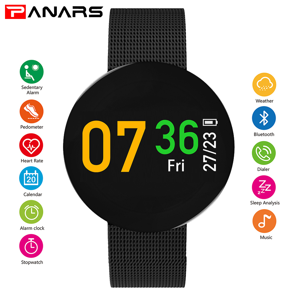 PANARS Bluetooth Smart Watch Men SmartWatch for Apple IPhone IOS Android Smart Watches Pace Lite GPS Heart Rate IP68 Waterproof