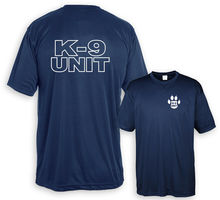 купить 2019 Funny Shirt K-9 Unit Police Xl Navy Double Side Unisex Tee по цене 526.91 рублей