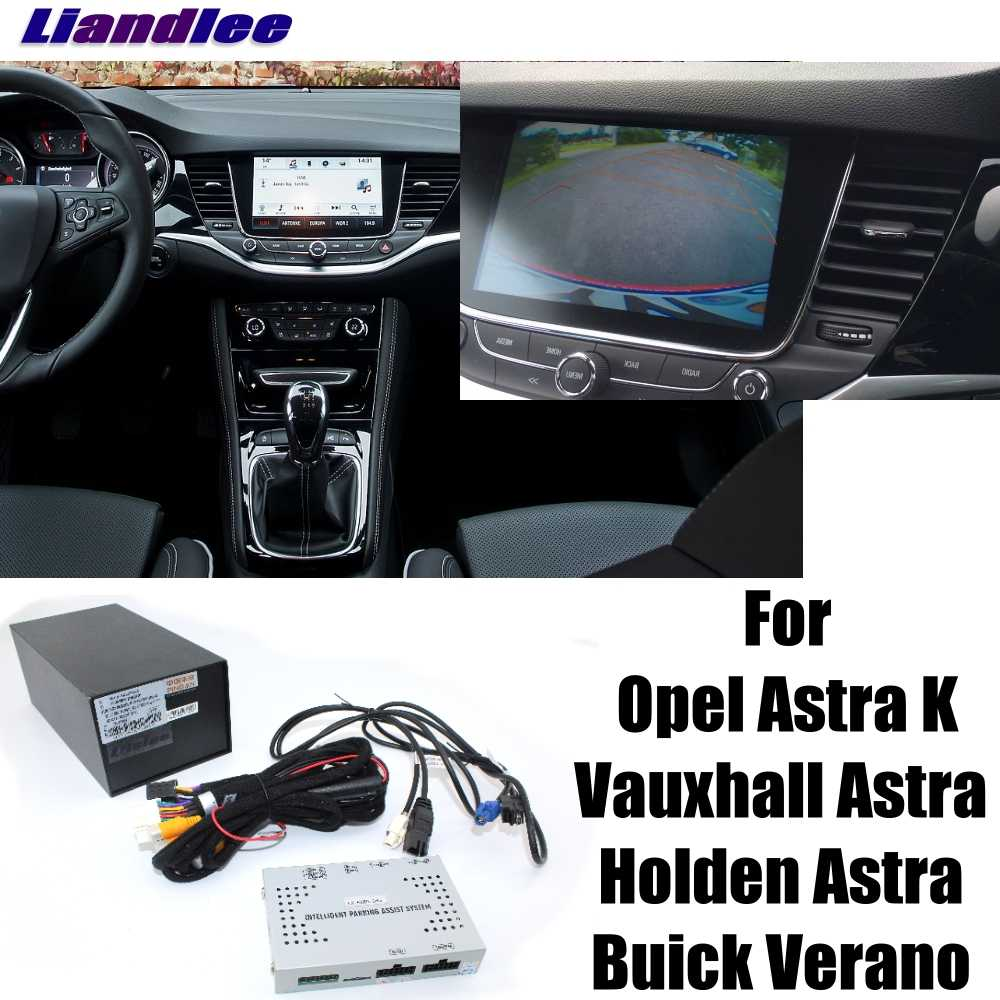 Liandlee Reverse Camera Interface Parking System Plus For Buick Verano For Vauxhall For Holden For Opel Astra K Display Upgrade