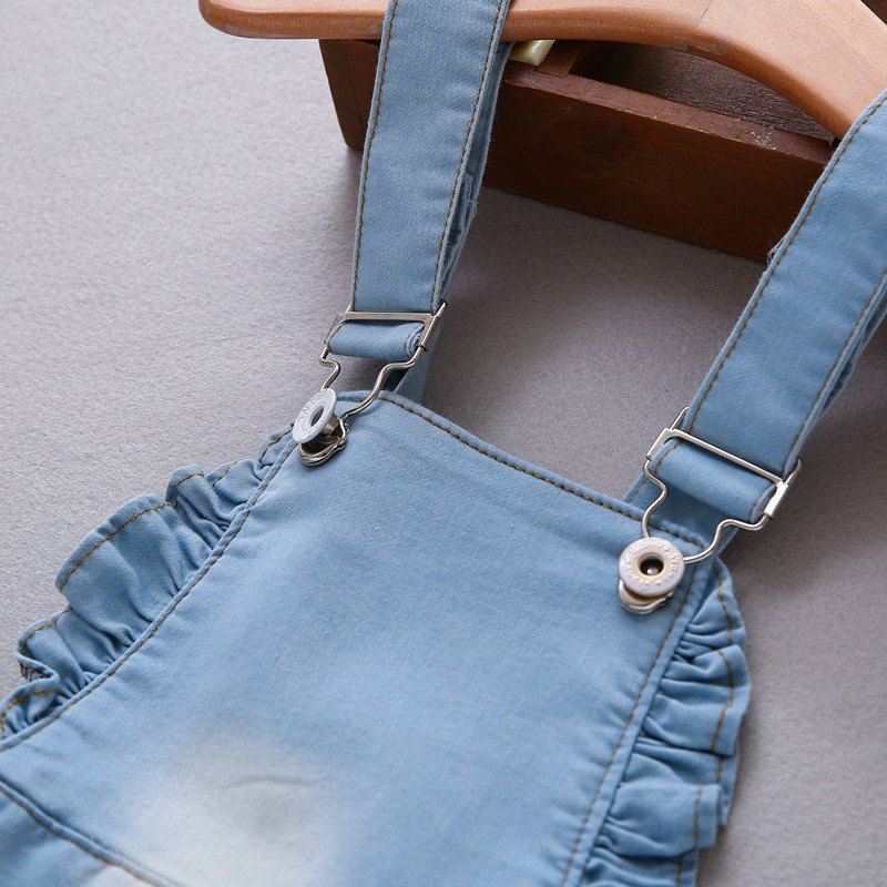 4a79b4da4a8 ... 12М-4 лет сарафан 2017 платье для маленьких девочек летние джинсовые  платья для комбинезоны для ...