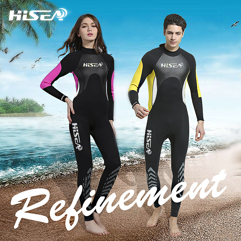 7a0b9c341f US $41.3 30% OFF|Couple's Wetsuit 3mm Neoprene Wetsuit Full Wetsuits Keep  Warm Adult Youth Girls Wet Suits One Piece Swimsuit Men's or Women's-in ...