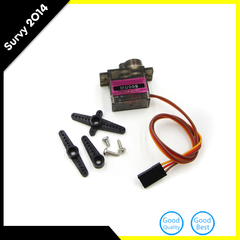 New MG90S Gear Servo Metal High Speed Micro Servo For Boat RC Plane Car Helicopter
