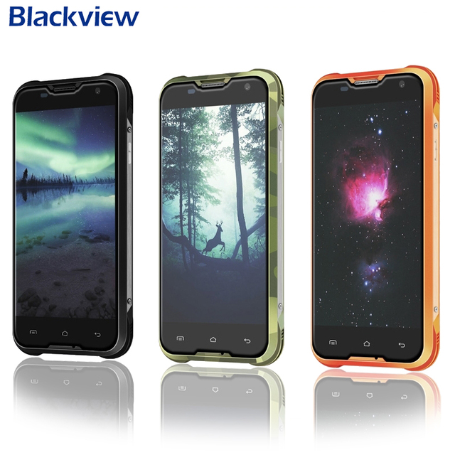 "Original blackview bv5000 mtk6735 impermeable 4g lte 5 ""HD Quad Core Android 5.1 Teléfono Móvil 2 GB RAM 16 GB ROM 13MP"