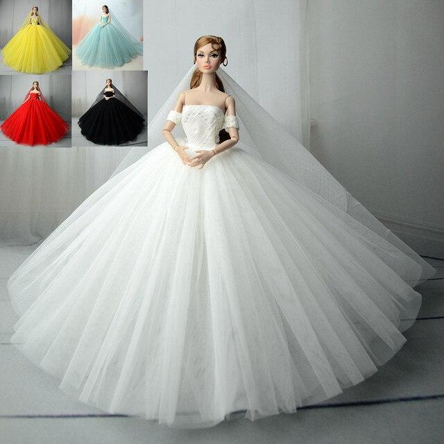 Dress Veil 15 Colors White Black Voile Party Dress Evening